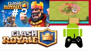 Kok Ada VALKYRIE??! | Clash Royale Indonesia #2 - Android Game