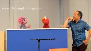 Alan, Abby & Elmo at #CodetheRoad @SesameStreet Event