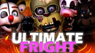 "FNAF ULTIMATE CUSTOM NIGHT SONG | "" ULTIMATE FRIGHT "" By DHEUSTA [OFFICIAL MUSIC VIDEO SFM]"
