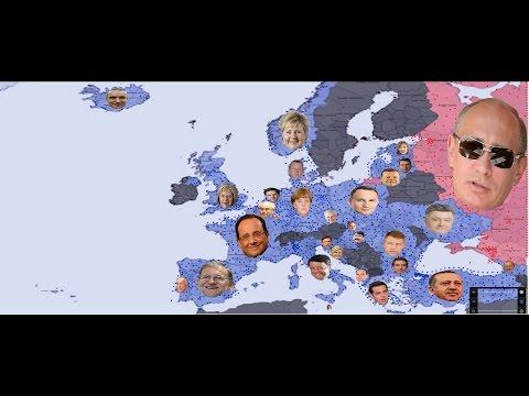 Russia vs European NATO simulation version 1 ( Special 2500 subscribers)