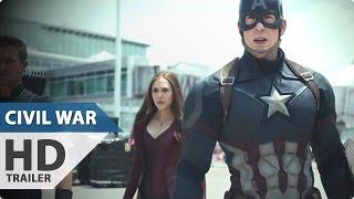 Captain America 3 Civil War Trailer (2016) Chris Evans, Robert Downey Jr Marvel Movie