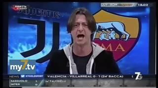 "DirettaStadio 7Gold Juve Roma 1-0 Oppini: ""Grande Juve!!!"""