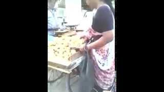 Mango theft by a indian women