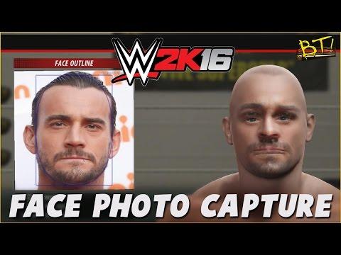 WWE 2K16 CM Punk Face Photo Capture Online Created Content