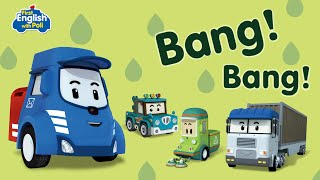First English with POLI Bang! Bang! | Robocar POLI Special