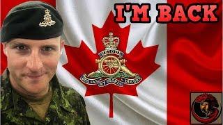 British Army veteran now a Royal Regiment of Canadian Artillery GUNNER!