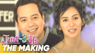 The Making | 'Just The 3 of Us' | John Lloyd Cruz, Jennylyn Mercado | Star Cinema