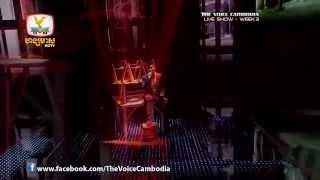 ប្រុសណាមិនយំ _ ឃុន វត្ថា _ The voice Cambodia 2014