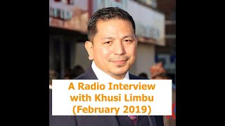 A Radio Interview With Khusi Limbu