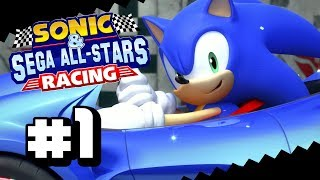 Sanic Rum-Rum?   Sonic & SEGA All-Stars Racing PARTE 1 - [Copa Chao]