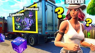 *NEW* FORTNITE INVISIBLE HIDE & SEEK! with Lachlan & Alex! (Battle Royale Season 6)