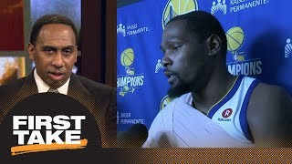 Stephen A. goes off on Kevin Durant: I don