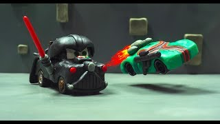 STAR CARS A Galaxy Far, Far Away. Battle Wars DARTH MATER Lightning McQueen Jackson Storm SERIES 1
