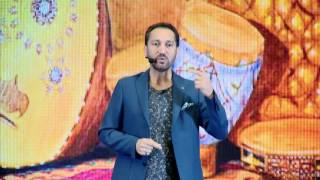 Insisting on achieving the dream, Oud globalization   Naseer Shamma   TEDxBaghdad