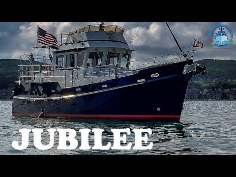 Trawler for Sale Diesel Duck 382 Jubilee Interior Off Market