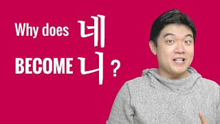 Ask a Korean Teacher with Jae - Why does 네 become 니?