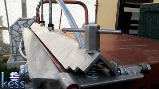 Sheet Metal Bender Brake DIY Fully Modified