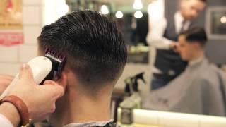 Pomapadour By Cut & Sew barbers.