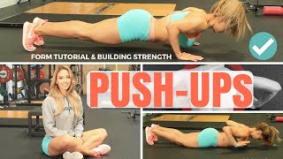 Lais DeLeon - Push-Up Form Tutorial & How To Increase Strength