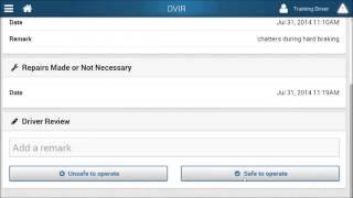 Geotab Drive-HOS/DVIR Full Process