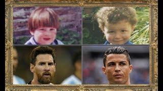 Lionel Messi v Cristiano Ronaldo | Picture Comparison Age 1-30
