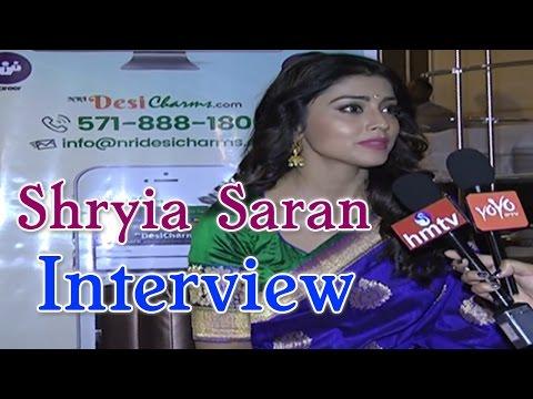 Shriya Saran Exclusive Interview | Charming Ladies Night NRIDesicharms | YOYO NRI EVENTS