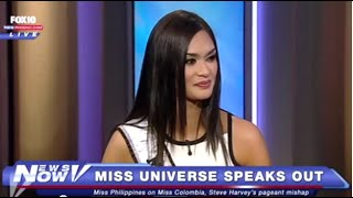 FNN: Miss Universe Finally Speaks Out About Dramatic Miss Colombia Incident
