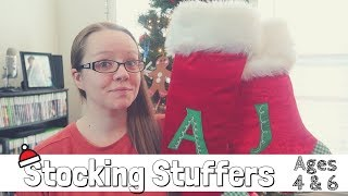 What's In My Kids Christmas Stockings | Stocking Stuffer Ideas | Ages 4 and 6