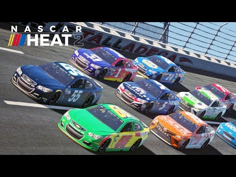 NASCAR Heat 2 Monster Energy NASCAR Cup Series Preview
