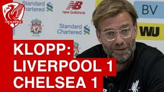 Liverpool 1-1 Chelsea | Jurgen Klopp Post Match Press Conference