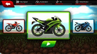 """Motorcycle Racer Bike Games PART 3 """"Racing Action & Motor Games"""" Android Gameplay Video"""