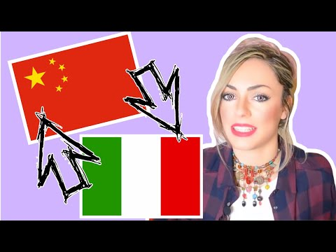 10 parole ITALIANE SIMILI in CINESE