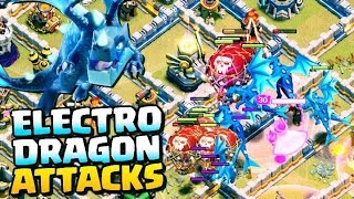 coc_Electro dragon_loon _wc _attack  strategy_2019_best electro dragon loon wc attack