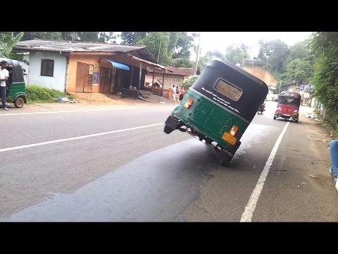 Three Wheeler Stunts in Sri Lanka - 3 Weel Fun Vid