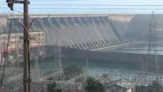Orissa tourist places ( Hirakud Dam )