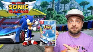 Team Sonic Racing for Switch REVIEW - HYPE or TRASH?