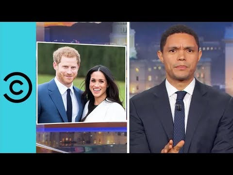 "Prince Harry Proposed To Meghan Markle Over ""Chicken Dinner"" The Daily Show"
