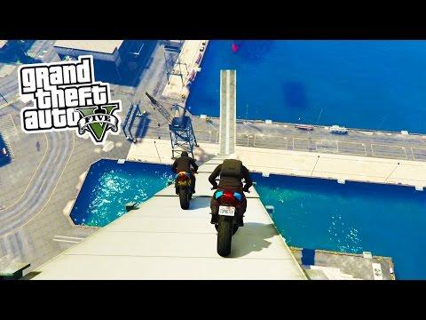 Xxx Mp4 GTA 5 Online BIKE STUNTS Epic Bike Tricks Stunts In GTA Online GTA 5 PS4 Gameplay 3gp Sex