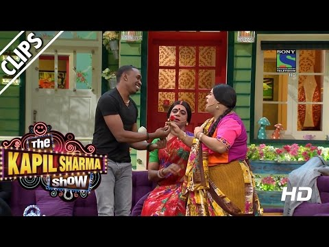 Xxx Mp4 'DJ' Bravo Getting Lessons On Bollywood The Kapil Sharma Show Episode 10 22nd May 2016 3gp Sex