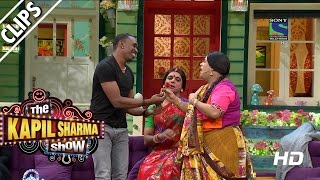 images DJ Bravo Getting Lessons On Bollywood The Kapil Sharma Show Episode 10 22nd May 2016