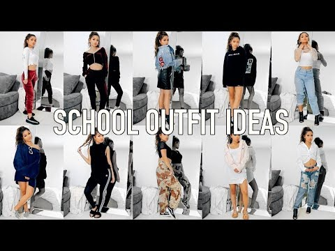 Xxx Mp4 10 OUTFIT IDEAS FOR SCHOOL Back To School 3gp Sex