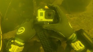 I Found a GoPro Underwater in the River While Scuba Diving! (Returned to Owner)