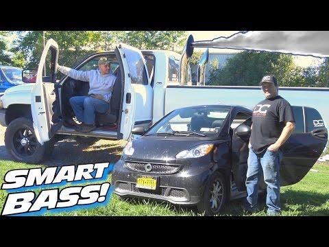 SMART Car DIESEL Bass 2001 Dodge Cummins Sound System 16 12 Subwoofers & 165db SPL Install