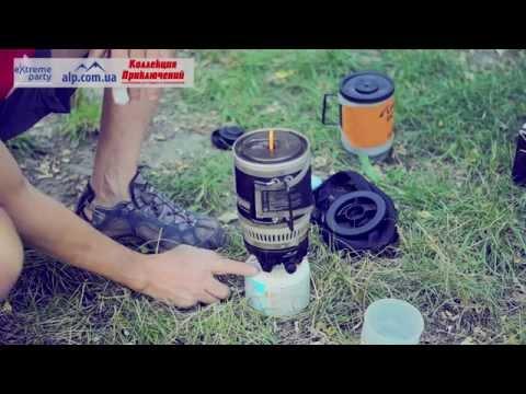 Супер эффективная газовая горелка Kovea KB 0703W Alpine Pot Wide