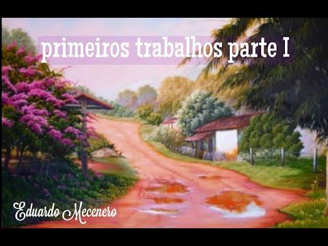 Pintura a Óleo Sobre Tela Eduardo Mecenero