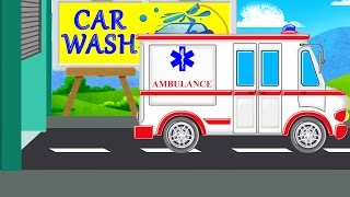 Ambulance | Car Wash Videos | Videos For Children