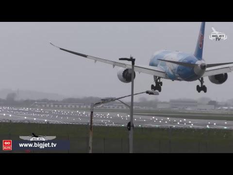 Storm Freya LIVE London Heathrow Airport 3 3