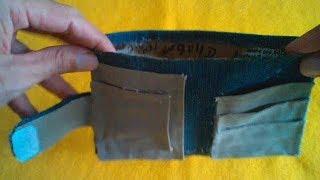 Cara Membuat Dompet Dari Jeans Bekas Tanpa Mesin Jahit