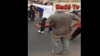 شوهة فتاة في حالة سكر تقطع شارع محمد السادس بمراكش