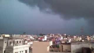 Heavy cloud before very heavy rain (bhopal, india)